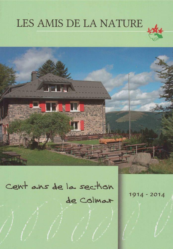 Livre Cent ans section de Colmar