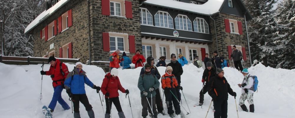 Le Schnepfenried en hiver avec les Amis de la Nature - Colmar