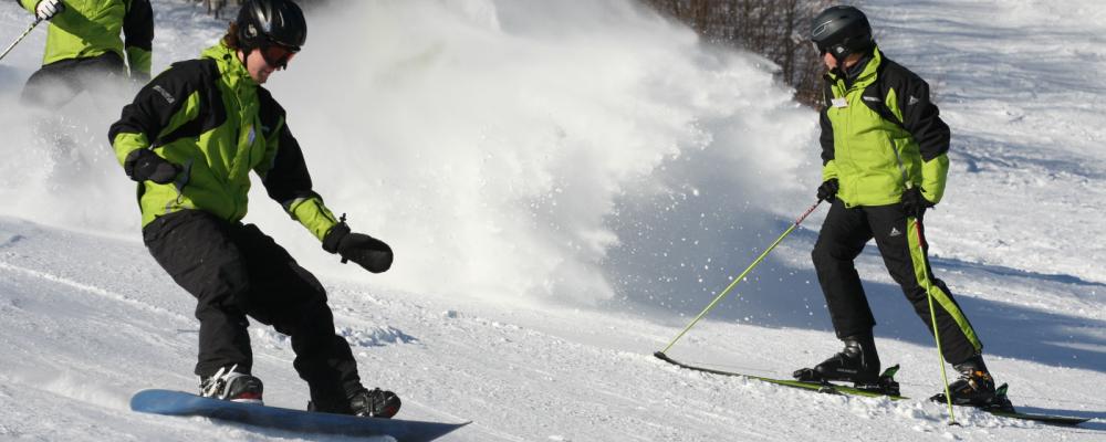 Activités hiver : Ski et Snowboard au Schnepfenried, Vosges